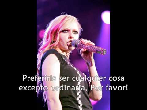 Anything But Ordinary Avril Lavigne Español Sub