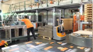 Погрузчики STILL на заводе Егермайстер Германия(Электрические погрузчики STILL RX20, тележки для паллет EXU и поводковые электроштабелеры EXV на заводе по произво..., 2015-04-09T09:31:57.000Z)