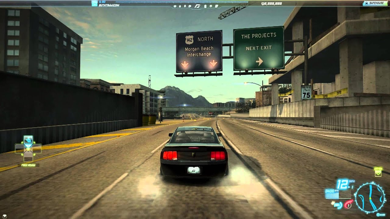 Need For Speed World Ford Shelby Terlingua Mustang Team NFS (1 April 2013)  - YouTube
