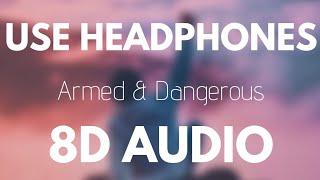 Juice Wrld - Armed & Dangerous (8D AUDIO)