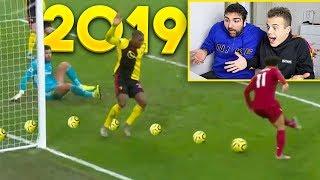 ⚽ REAZIONE ai MIGLIORI GOL del 2019!!! | Best 2019 goals - w/T4tino23
