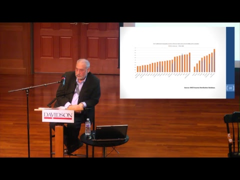 Nobel Laureate Joseph Stiglitz on Globalization, Inequality and Capitalism