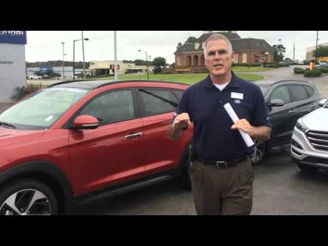 Hello Peggy, Check out this video on the 2016 Hyundai Tucson at Tameron Hyundai in Hoover, AL