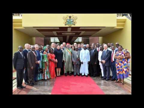 Nouvelle tournée royale entamée au Ghana : un nouvel allié en Afrique de l'Ouest