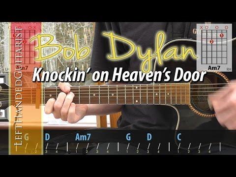 Bob Dylan - Knockin on Heaven's Door (unplugged) guitar lesson
