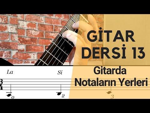 Gitarda Notaların Yerleri | Gitar Dersi 13