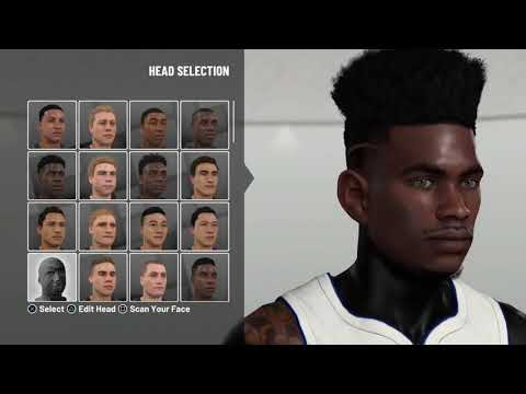 NBA 2K19 BEST DRIBBLE GOD FACE CREATION 🧀   HOW TO LOOK LIKE A CHEESER 🎸 (MUST WATCH)