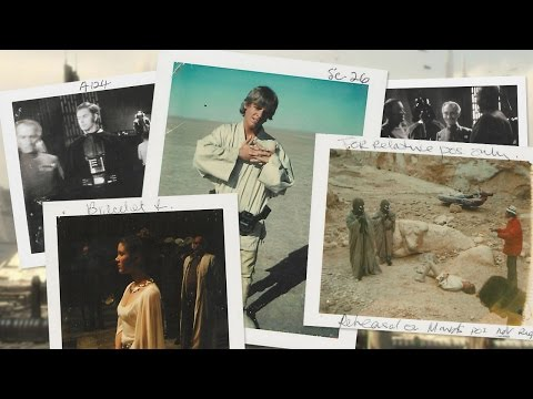 Brand-New Behind-the-Scenes Stills From Star Wars Episode IV: A New Hope