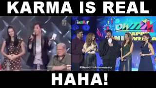 Vice Ganda Comments on EAT BULAGA - KARMA IS REAL!!!