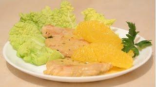 Филе Индейки в Апельсиновом Соусе. Как приготовить индейку в сливочно-апельсиновом соусе.