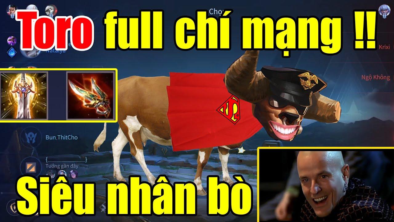 Cách để biến Toro thành một siêu nhân bò - Một húc là một mạng là có thật, Toro biến hình   Xuân TV