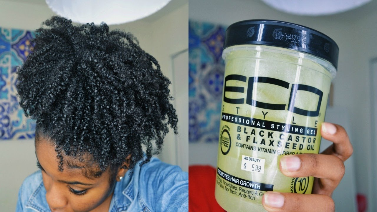 styling gel for black hair new eco styler black castor amp flaxseed gel wash n 6941