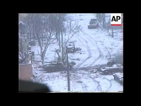 Chechnya - Grozny Street Battles Intensify