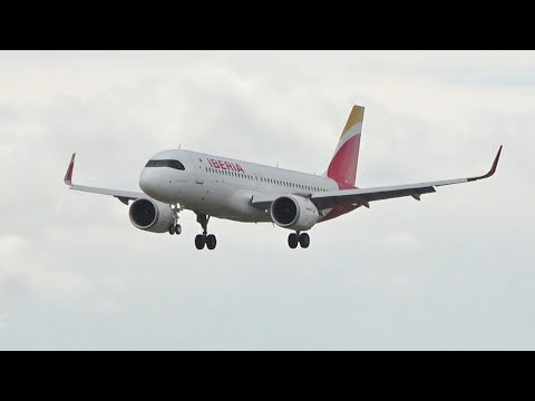 Airbus A320 & A321 NEO arrival Compilation London Heathrow Airport LHR EGLL