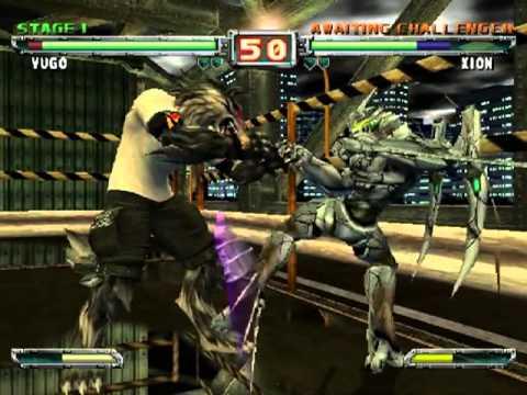 Nintendo GameCube Bloody Roar Primal Fury (USA)