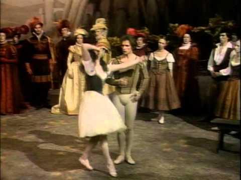 """Рудольф Нуреев. """"Жизель"""". 1979 г. Rudolf Nureyev. """"Giselle""""."""