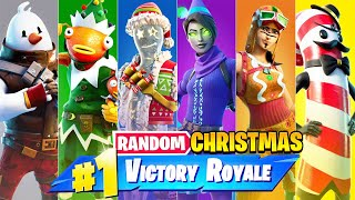 The *RANDOM* CHRISTMAS BOSS Challenge in Fortnite!