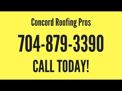 Concord Roofing Contractors | Roof Repair Concord NC