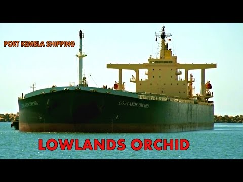 LOWLANDS ORCHID (Bulk Carrier) Port Kembla Arrival