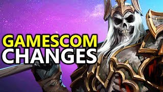 ♥ New Gamescom 2017 Leoric Changes - Heroes of the Storm (HotS)