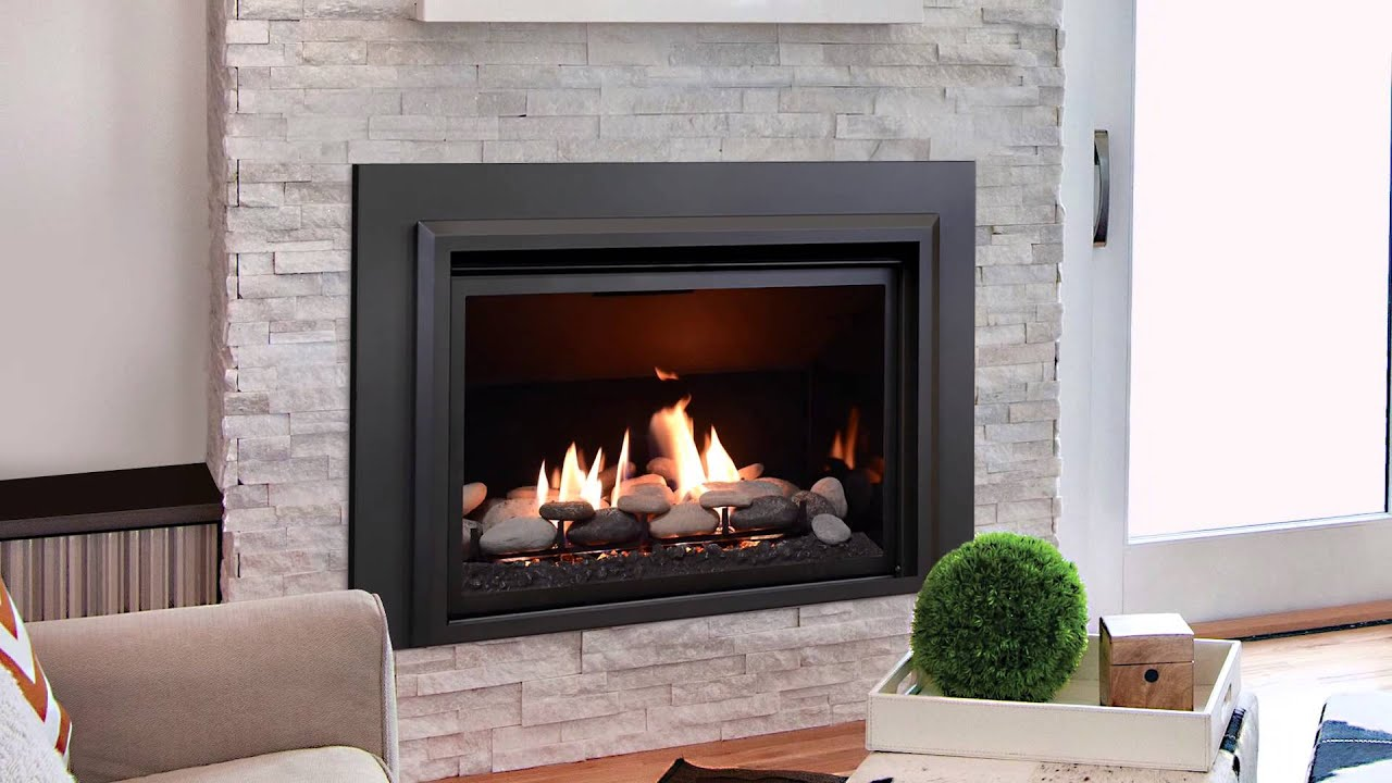 Kozy Heat - Chaska 34 Rock Fireplace - YouTube