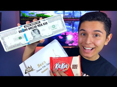 [ASMR] BILLION DOLLAR TINGLES! (Intense Chocolate Eating Sounds!)