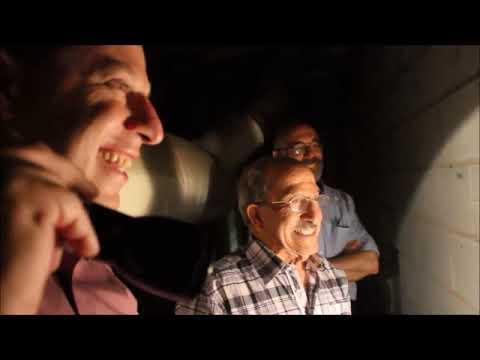 מנשה פנסו חוזר אל המנהרה שבמרתפי הספרייה הלאומית