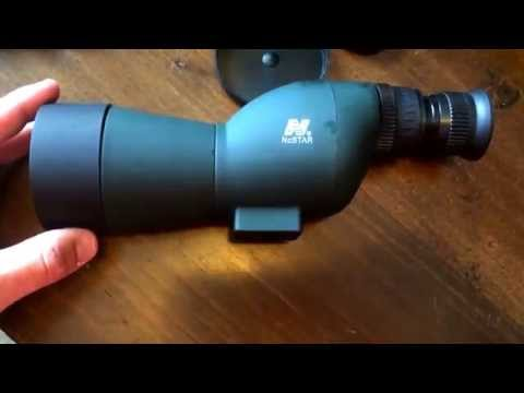 Spotting Scope NcStar 15-40X50 Unboxing