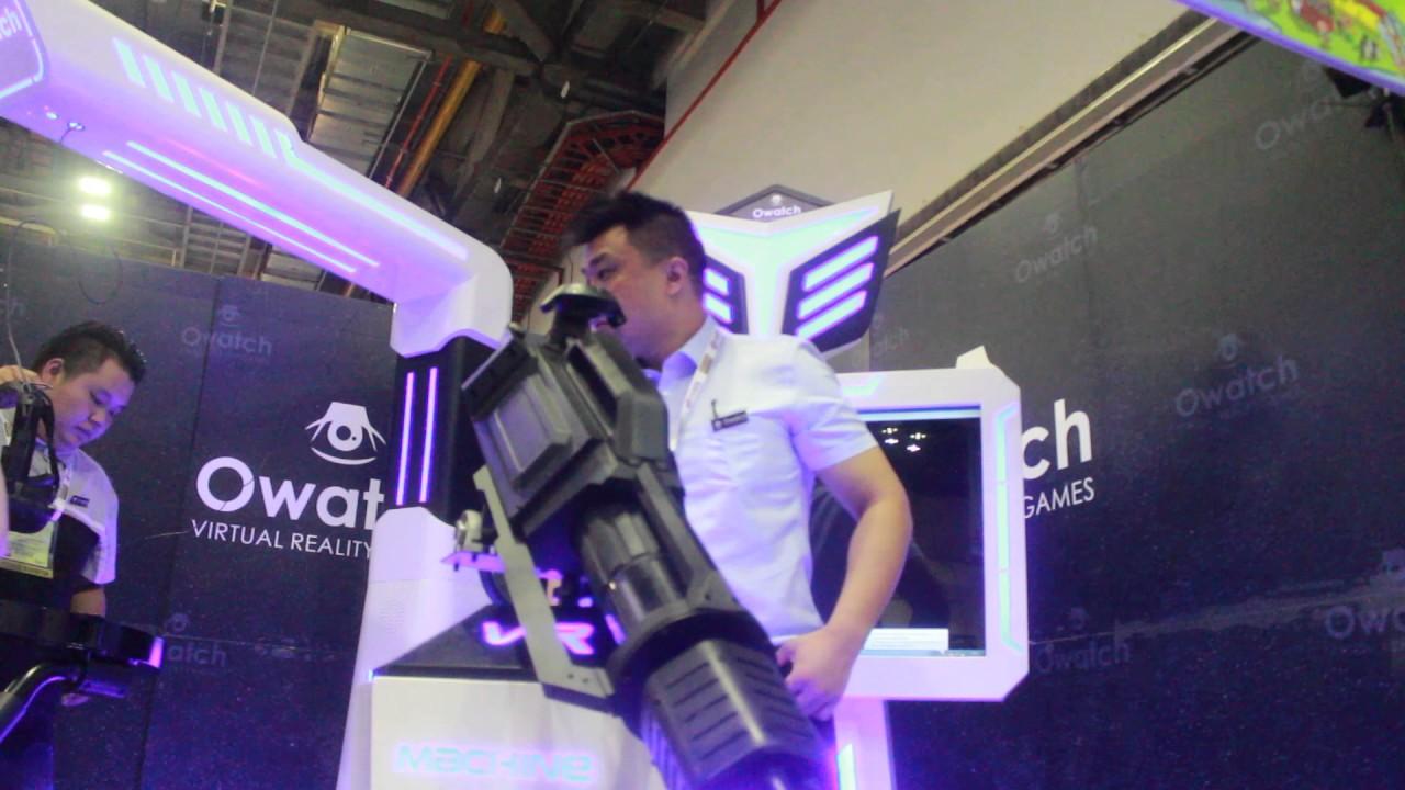 f508ef766bd3 Owatch VR Machine Gun - YouTube