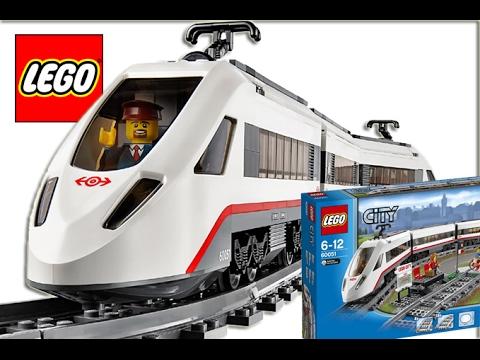 LEGO City 60051 Vysokorychlostní osobní vlak | Rozbalení, Skládání | Hračky pro děti