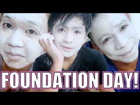 100 LAYERS OF FOUNDATION (Kulang FUNDA kaya Powder nalang HA HA HA)