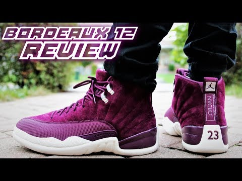 Air Jordan 12 Bordeaux REVIEW | On-Feet | SNEAKERTALK