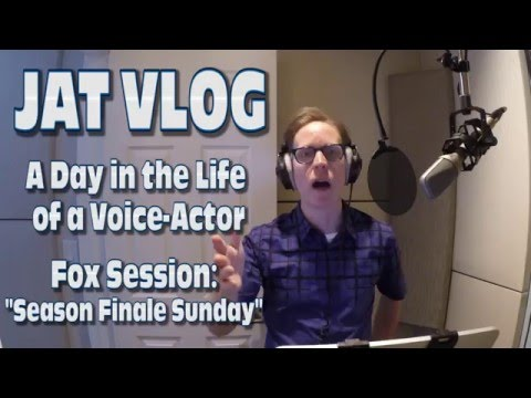 James Arnold Taylor A Day in the Life of a VoiceActor: Fox Season Finale