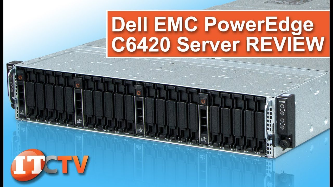 Dell EMC PowerEdge C6420 Server with Dell C6400 Chassis | IT