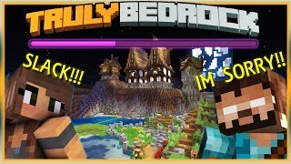 Truly Bedrock S1 EP12 : Accidental Raid and Witchhut Upgrades [ Minecraft, MCPE, Bedrock Edition ]