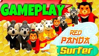 RED PANDA SURFER - EPIC GAMEPLAY!!! - WORLD TOP!! - THE NEW SUBWAY SUFERS