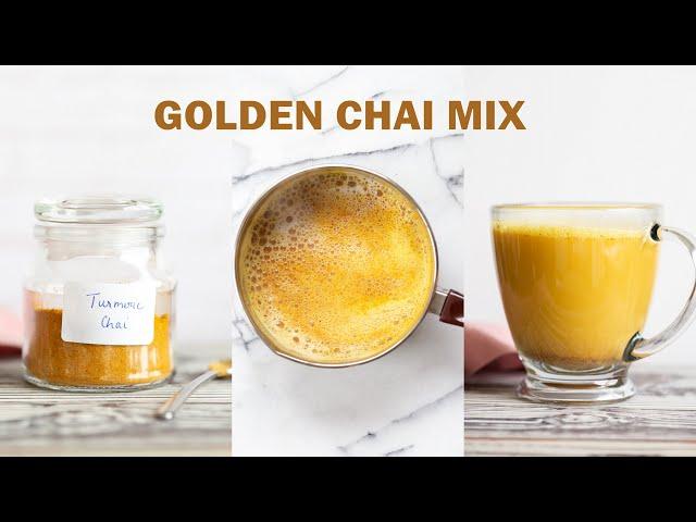 GOLDEN CHAI MIX FOR TURMERIC CHAI LATTE | Vegan Richa Recipes