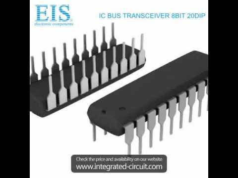 SN74HC245N INTEGRATED CIRCUIT  BUS TRANSCEIVER 8BIT 20DIP