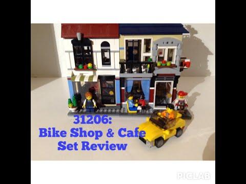 Mardigrasman23 Lego Set #31026 Bike Shop and Cafe Review