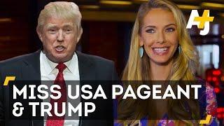 Miss USA Contestants Talk Trump Controversy