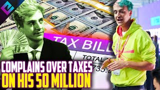 Ninja Talks Paying Taxes on $50 Million