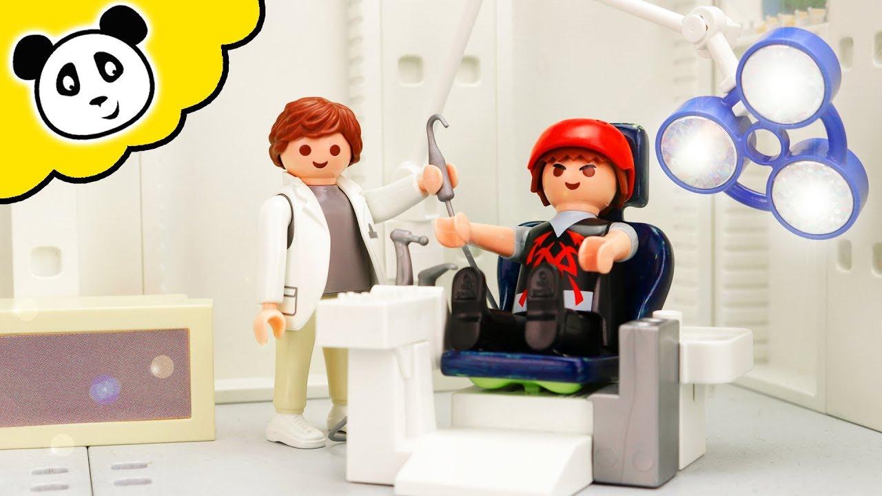Playmobil Polizei Kevin Muss Zum Zahnarzt Playmobil Film Youtube
