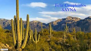 Sayna  Nature & Naturaleza - Happy Birthday