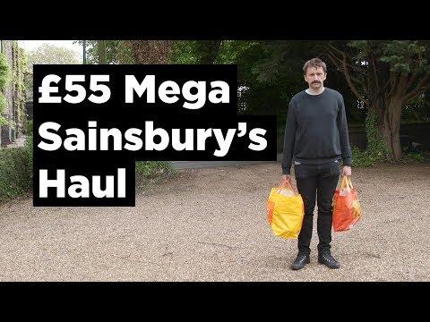 £55 Mega Sainsbury's Haul