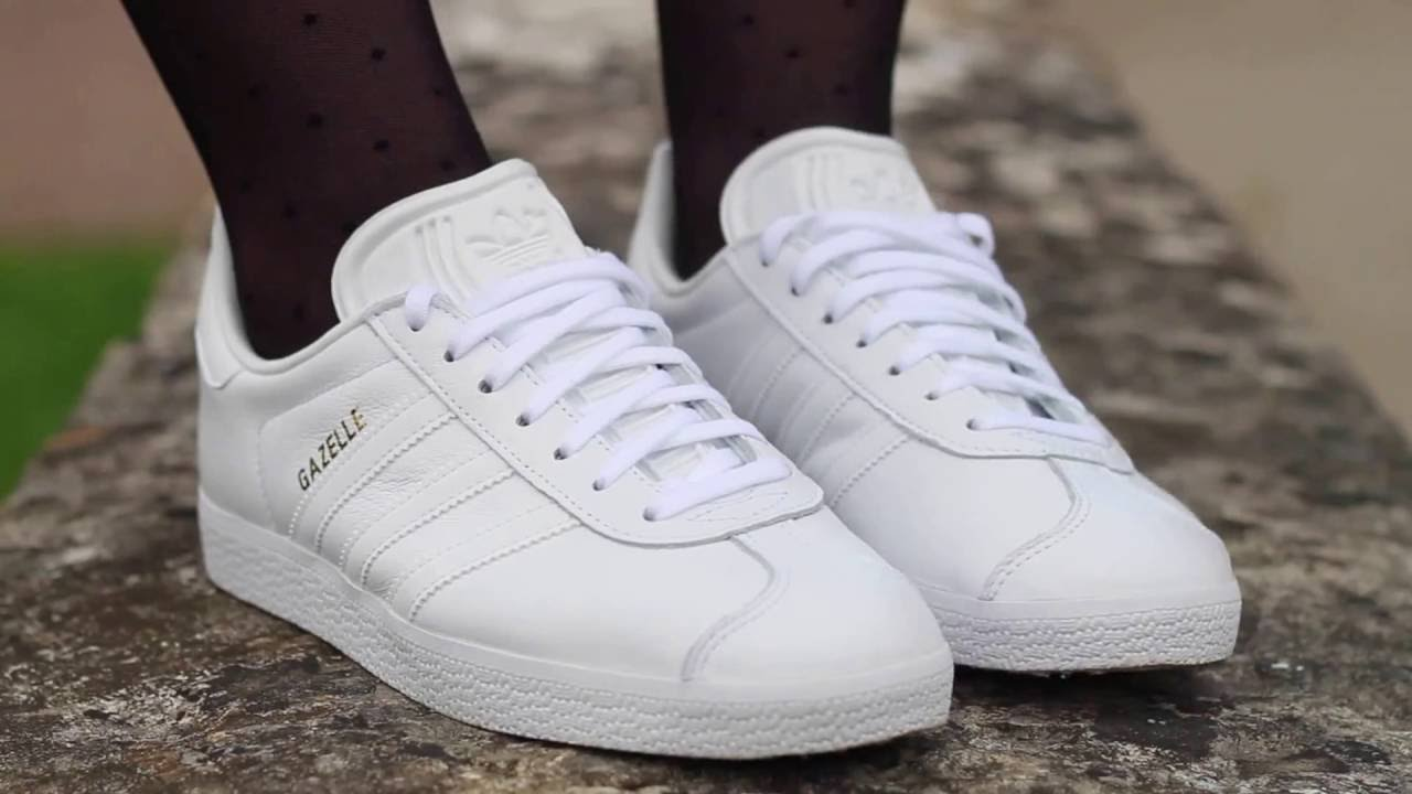 8748f491ce15 Adidas Gazelle - white version