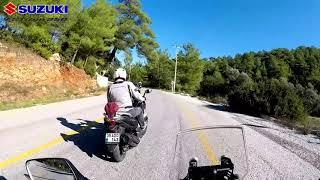 Üç kafadarın Mumcular'a Kavurma Turu - Bolum1 | Suzuki Vstrom 250 - Cruisym