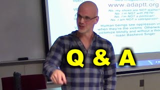 Gary Yourofsky - Q&A Session, Oakland Community College 2014