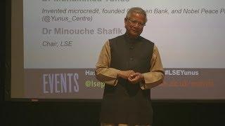 LSE Events | Dr Muhammad Yunus | A World Of Three Zeroes thumbnail