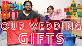 OUR WEDDING GIFTS🎁💝 || itne pyare pyare gifts😍😍