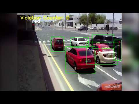 Fully Automated Red-light Violation Detection
